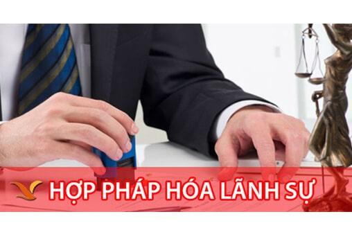 Hợp pháp hóa lãnh sự tại Thanh Trì uy tín