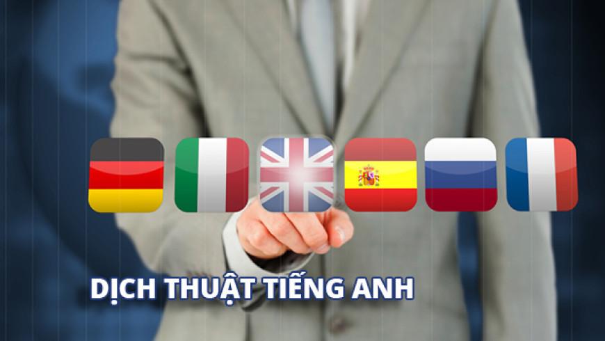 Dịch thuật tiếng Anh giá rẻ Hà Nội